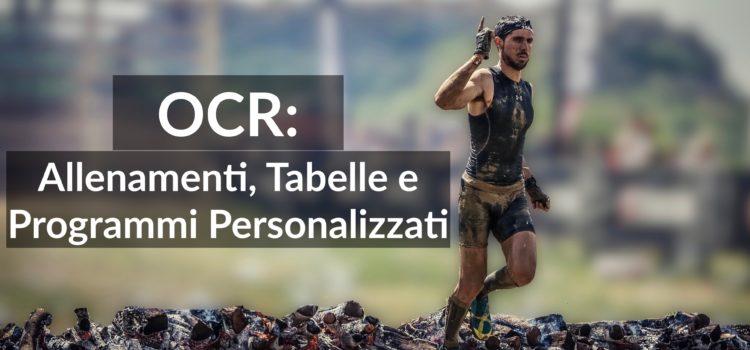 OCR: Allenamenti, Tabelle e Programmi Personalizzati