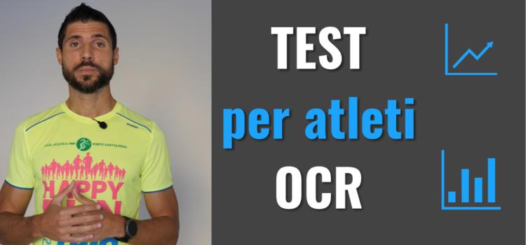 TEST per atleti OCR